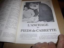 FOLKLORE FRANCE 203 ANCHAGE DES PIEDS DE CABRETTE (voir Détail) - Culture