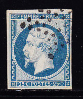 N°15 - Obl Étoile - Léger Clair - 1853-1860 Napoleon III