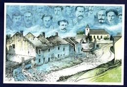 2014.Rossignol. Belgique Commémoration Des Combats Du 22 Août 1914. Illustration Palix - Otros Objetos De Cómics