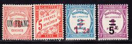N°63/66 - TB - Postage Due