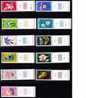N°229/31, 234/36, 245/47, 286/87 - Fleurs -Ts BDF - TB - Andorre Français