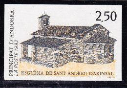 Non Dentelé N°415 - Eglise Saint Andreu - TB - Andorre Français