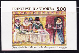 Non Dentelé N°384 - Retable De St Michel - TB - French Andorra