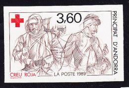 Non Dentelé N°380 - Croix-Rouge - TB - French Andorra