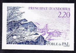 Non Dentelé N°377 - Village De PAL - TB - French Andorra