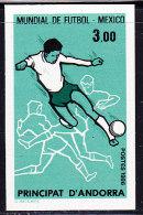 Non Dentelé N°350 - Football Mexico 86 - TB - Neufs