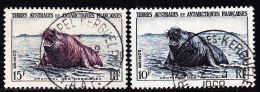 N°6/7 - 2val - TB - Terres Australes Et Antarctiques Françaises (TAAF)