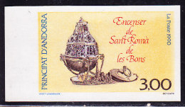 Non Dentelé N°392 - Encensoir - BDF - TB - French Andorra