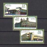 DDR 3145-47 ** Gebäuder Der Deutschen Post - [6] Democratic Republic