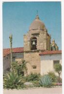 CARMEL, California, 1940-1960´s; San Carlos Borromeo Mission, Bell Tower - United States