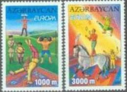 AZ 2002-513-4 EUROPA CEPT, ASERBEDIAN, 2v, MNH - Azerbaïdjan