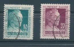 1949. Württemberg - Hohenzollern (French Zone) :) - Zone Française