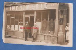 CPA photo - Lieu � identifier - Magasin d' IMPRIMERIE , Travaux de Commerce et de Luxe - Cours de danse de Mme VILAINE