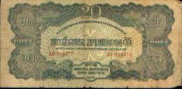 HONGRIE - 20 Pengö 1944 - Hongrie