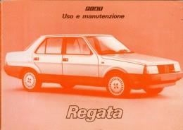 0069 FIAT REGATA  LIBRETTO USO E MANUTENZIONE 1984