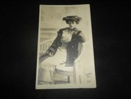 Célébrités .  Artistes. Comédie Française. Robinne   (  Gabrielle  ) Carte Photo Reutlinger. Avant 1903. Beau Chapeau. - Artisti