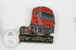 Euro Tech Truck - Pin Badge #PLS - Transportes