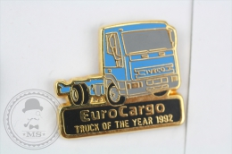 IVECO Euro Cargo Truck Of The Year 1992  - Pin Badge #PLS - Transportes