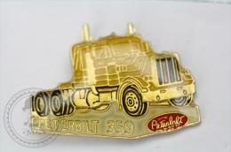 Peterbilt 356 American Truck - Pin Badge #PLS - Transportes