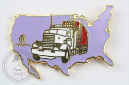 American Truck - Pin Badge #PLS - Transportes