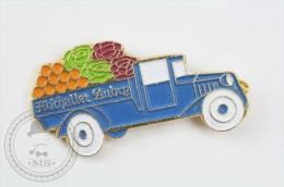 Michallet Aubry Fruits & Vegetables Truck - Pin Badge #PLS - Transportes