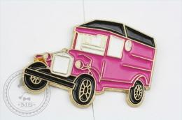 Old Classic Truck Purple Colour - Pin Badge #PLS - Pin