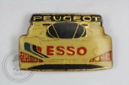 Racing Car Peugeot ESSO - Pin Badge #PLS - Pin
