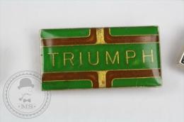 Triumph - Pin Badge #PLS - Motos
