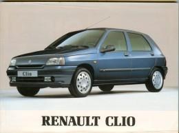 0075 RENAULT CLIO LIBRETTO USO E MANUTENZIONE 1994