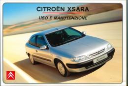 0076 CITROEN XSARA LIBRETTO USO E MANUTENZIONE 1999