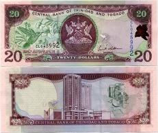 TRINIDAD & TOBAGO       20 Dollars       P-49      2006      UNC - Trinidad En Tobago