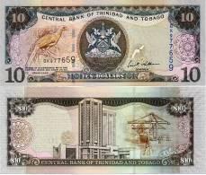 TRINIDAD & TOBAGO       10 Dollars       P-48      2006      UNC - Trinidad En Tobago