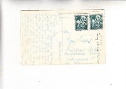 ESPANA / SPANIEN - 1952, Michel 1009, Mehrfachfrankatur, AK Nach Berlin - 1951-60 Briefe U. Dokumente