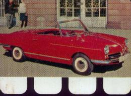 « N.S.U. - PRINZ 1964 » Plaquette Métallique Réalisée Par Le Chocolat COOP  (1964) - Cars