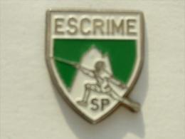 Pin´s ESCRIME - SP - Escrime
