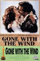 (NZ21-023 )  Gone With The Wind , Oscar Movie Film, Postal Stationery-Postsache F