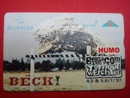 Beck Phonecard Outdoor Festival T.W Belgium Rare - Musikinstrumente