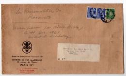 1942 - GRANDE ENVELOPPE Du BUREAU DES RENSEIGNEMENTS TOURISTIQUES DES CHEMINS DE FER ALLEMANDS - France
