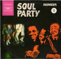 * LP *  SAM & DAVE - SOUL PARTY NUMBER 1 (Germany 1967) - Soul - R&B