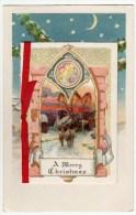 BIGLIETTO - BUON NATALE - A MERRY CHRISTMAS - 1928 - Vedi Altre Foto - Formato Piccolo - Natale