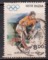 India Used R 8.00 Hockey 1992 (Sample Image) - India