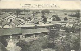 CPA De TROYES - Vue Générale De La Caserne Songis - Quartier D'Artillerie - Prise Du Clocher De Saint Martin. - Troyes