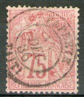 """Colonies Générales: N°58 Oblitéré """"PAPEETE/TAITI""""      - Cote 80€ -"""