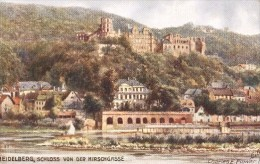 Charles Flower  -  Heidelberg Castle Of The Deer Valley    -   7641 - Tuck, Raphael