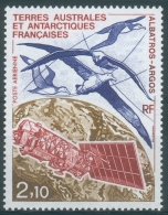 French Antarctic (FSAT), Albatross, Argos Satellite, 1991, MNH VF  Air Post - Airmail