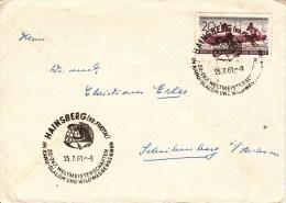 RUDERSPORT-ROWING-AVIRON- CANOTTAGGIO, GDR/DDR, 1961, Special Postmark !! - Aviron