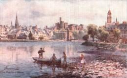 Henry Wimbush  -  The Castle At Inverness In Scotland   -    7677 - Wimbush