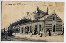 CORMEILLES EN PARISIS--1906--Le Quai De La Gare,au Passage D'un Train Vers Paris (animée) N°10éd ELD--à Saisir - Cormeilles En Parisis