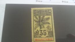 LOT 227289 TIMBRE DE COLONIE MAURITANIE NEUF* N�9 VALEUR 10 EUROS