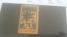 LOT 227306 TIMBRE DE COLONIE COTE IVOIRE NEUF* N�32 VALEUR 20 EUROS